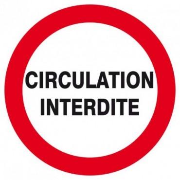 Circulation interdite
